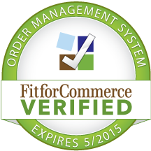 FitforCommerce Verified OMS (Order Management System) Seal