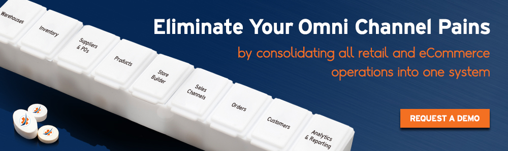 Eliminate your Omni Channel pains with SalesWarp by consolidating all retail and eCommerce operations in one system.