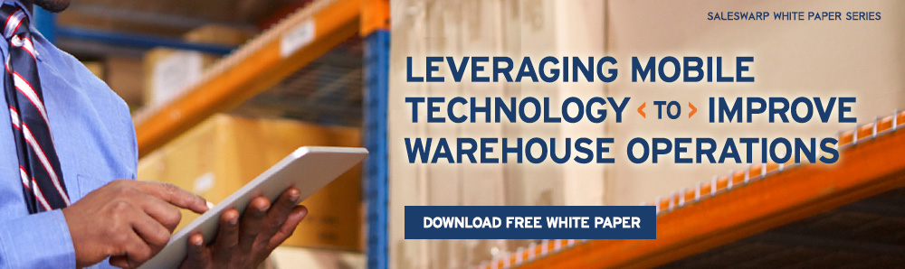 How retailers can leverage mobile technology to improve warehouse operations and speed up order fulfillment. Download SalesWarp Warehouse Management White Paper.