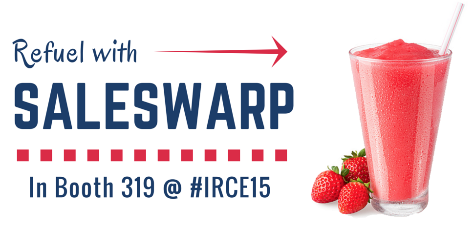 Refuel with SalesWarp in booth 319