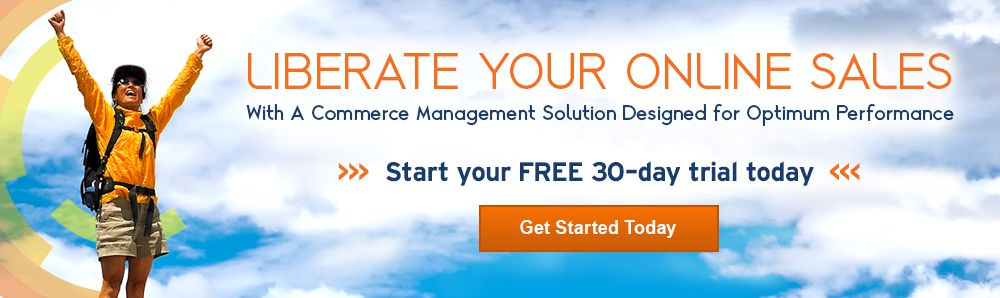 Liberate Your Sales. Start your FREE 30-day trial with no comittments. Get started today.